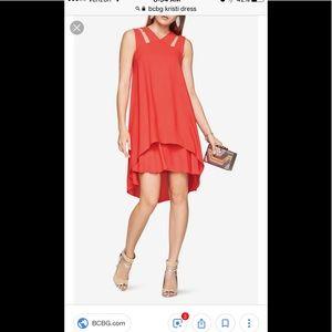 NWT BCBG Kristi dress -red berry color